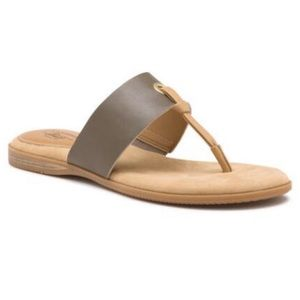 New Bass Brown leather sandals